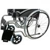 Silla de ruedas de acero ligera