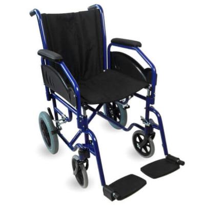 ▷ Silla de ruedas plegable de traslado