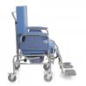Silla de ruedas de acero para personas obesas