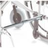 Silla de ruedas con portasueros y antirrobo