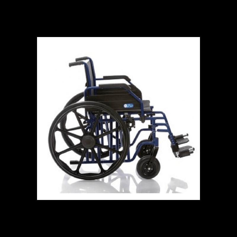 Silla de ruedas plegable para personas obesas