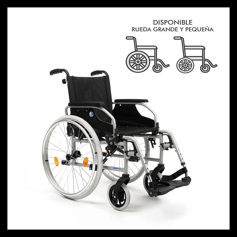 Silla de ruedas manual D100