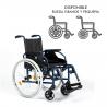 Silla de ruedas plegable D200P
