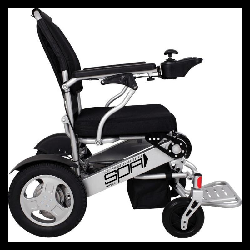 Silla de ruedas eléctrica plegable SPA 250W
