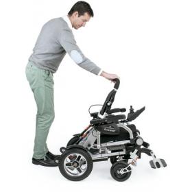 Silla de ruedas eléctrica plegable i-Discover - APEX MEDICAL