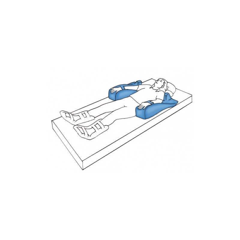 Cuña posicionadora de brazos - Ayudas dinámicas