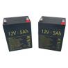 Baterías para Grúa eléctrica PRACTIKA de 5Ah - 12V
