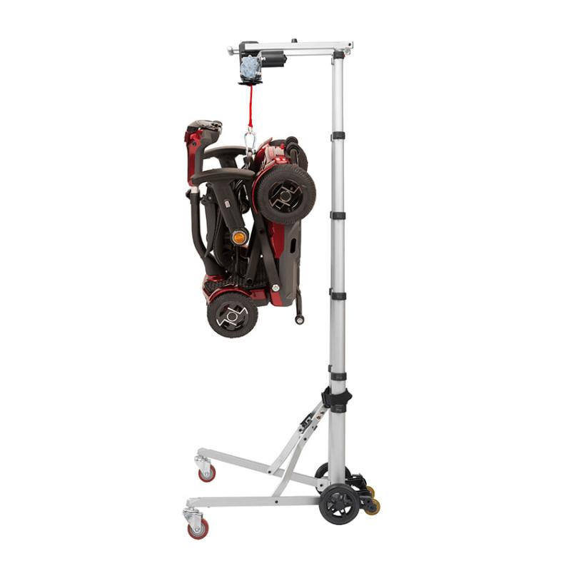 Grúa Hercules para elevar scooters y sillas eléctricas