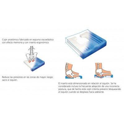 Cojín ergonómico 'Viscoflex Plus'
