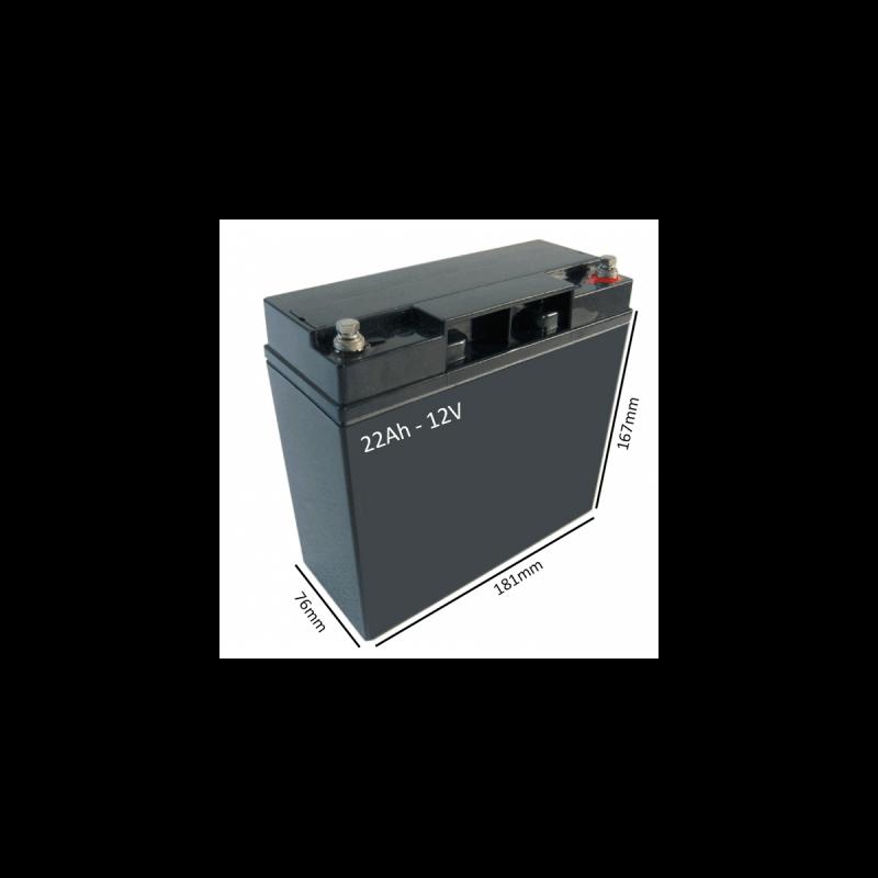 Baterías Scooter Eléctrico VENUS 4 SPORT de 22Ah - 12V