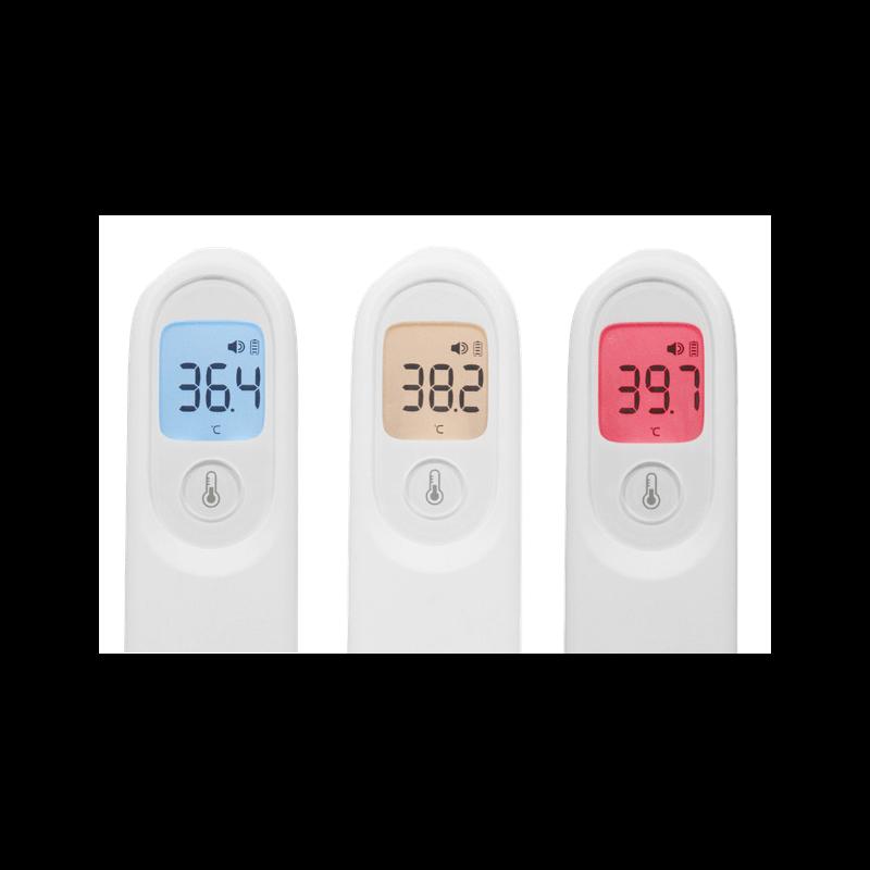 Térmometro infrarrojo digital sin contacto con la piel