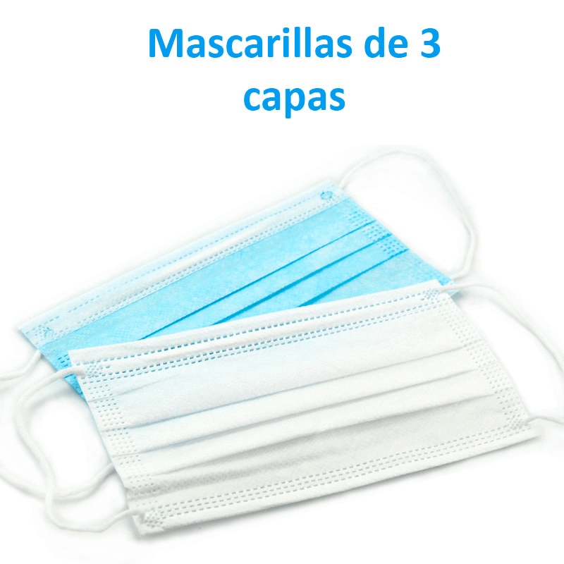 Pack Mascarillas Quirúrgicas desechables