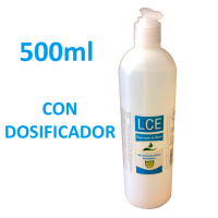 Gel Hidroalcohólico 500ml con dosificador