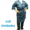Pack 10 Kimono desechable en material TST