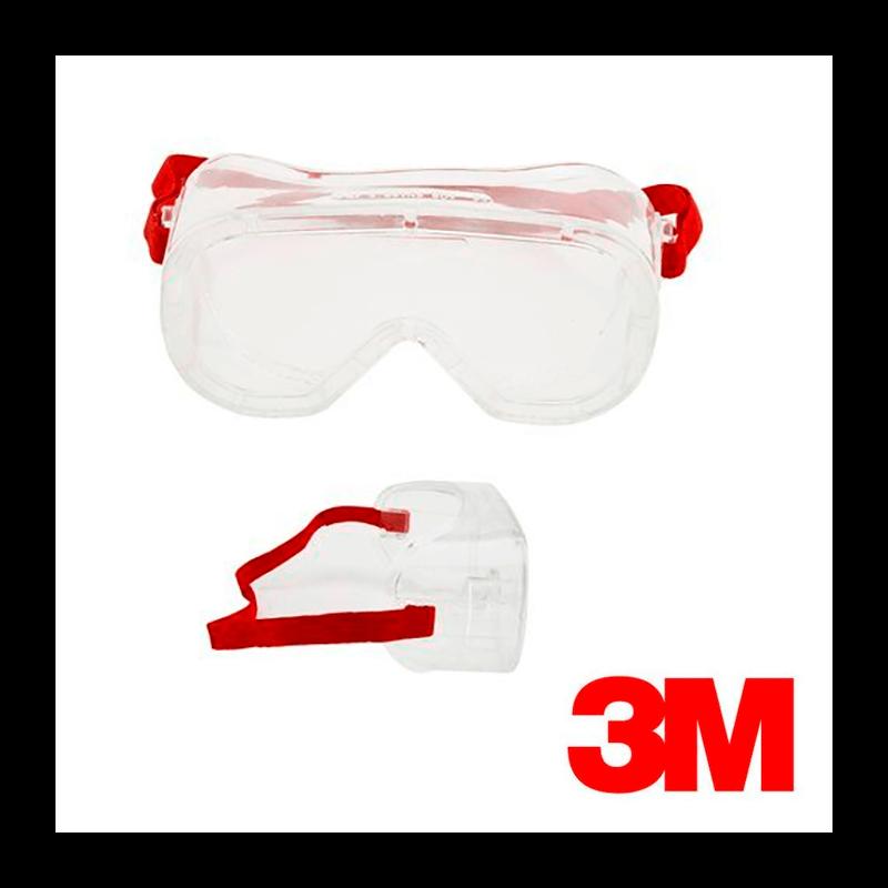 Gafas protectoras panorámicas policarbonato