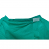 Bata sanitaria reutilizable lavable de TNT (polipropileno)