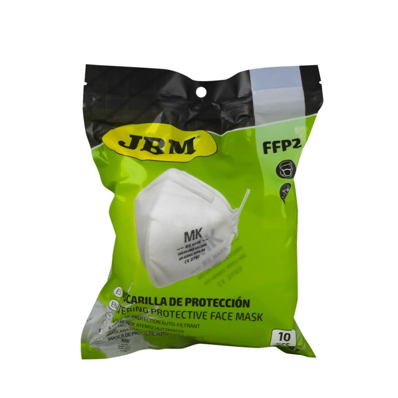 Mascarilla de protección FFP2 autofliltrante (10uds)