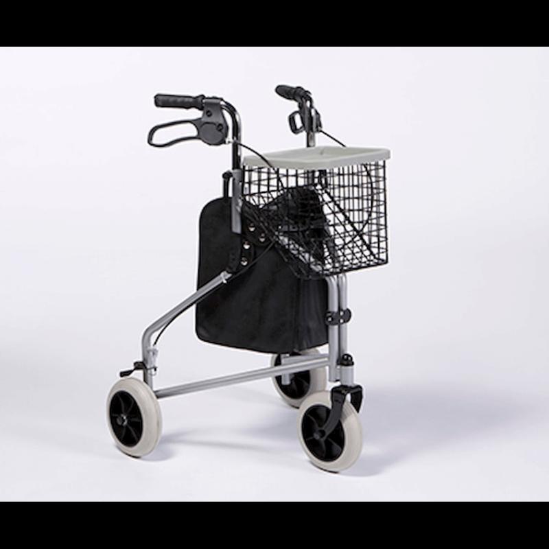 Andador plegable de 3 ruedas 'Delta'