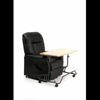 Mesa auxiliar reclinable con ruedas '378'