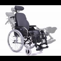 Silla de ruedas manual con respaldo reclinable y reposacabezas 'V300 30 COMFORT'