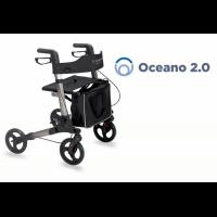 Andador plegable de 4 ruedas OCEAN