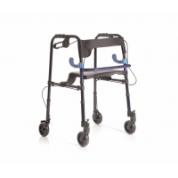 Rollators de aluminio plegable con 4 ruedas