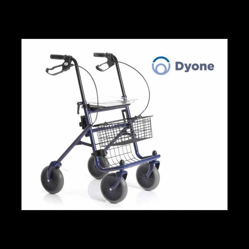 Andador de 4 ruedas de acero DYONE