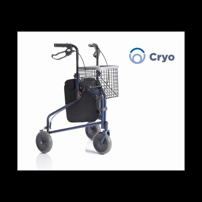 Andador plegable de 3 ruedas CRYO