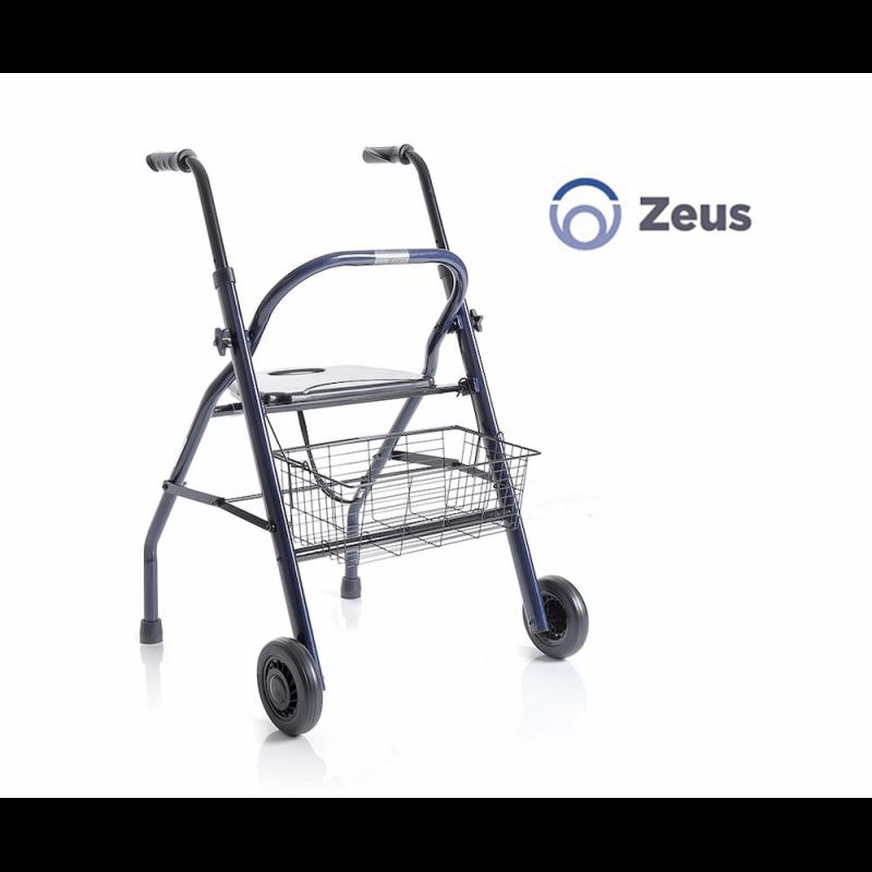 Andador plegable de 2 ruedas ZEUS