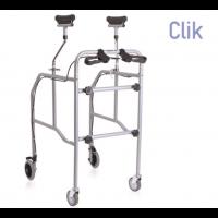 Andador con soporte axilar
