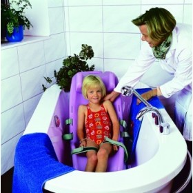 Silla infantil de baño - Ayudas dinámicas