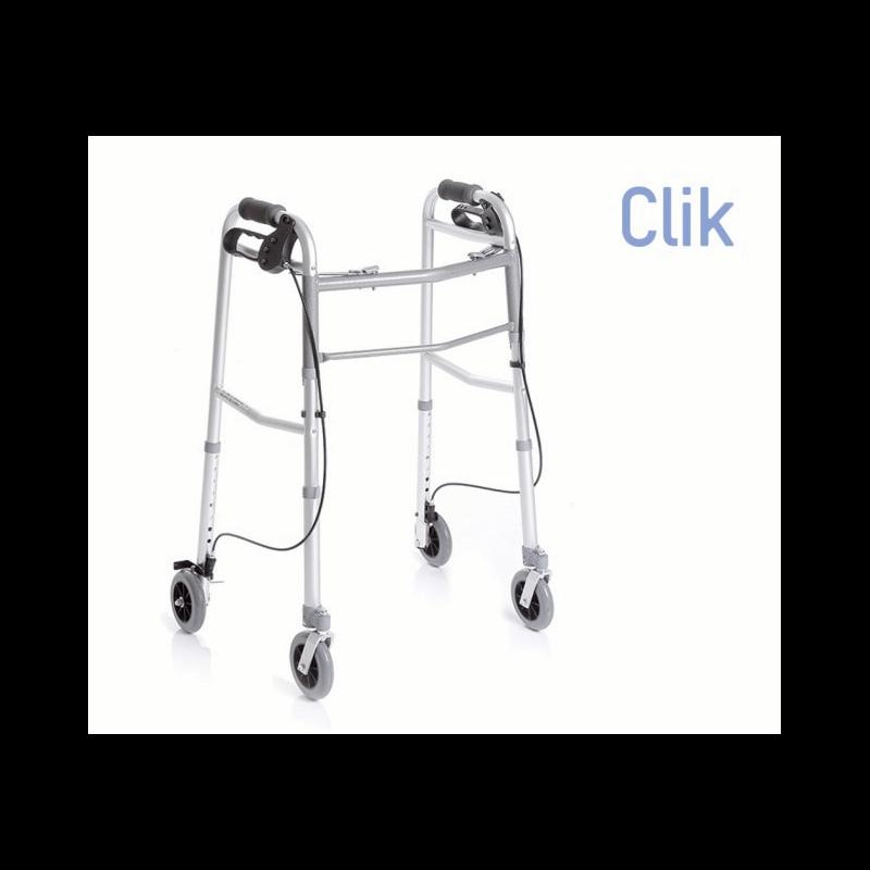 Andador de 4 ruedas con frenos