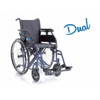 Silla de ruedas autopropulsable 'DUAL'