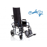 Silla de ruedas de transito reclinable 'COMFY GO'