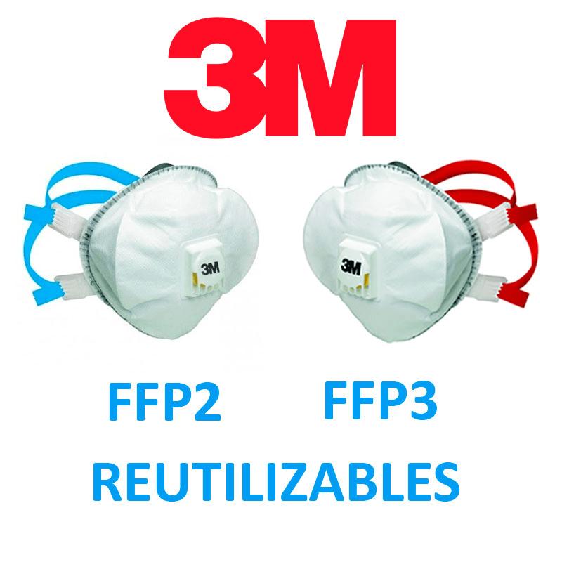 Mascarilla FFP2 3M 8825+ R D (5 uds)