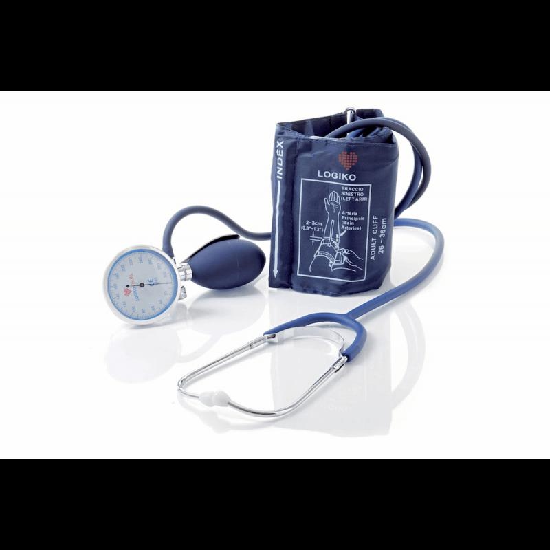 Tensiómetro manual con estetoscopio