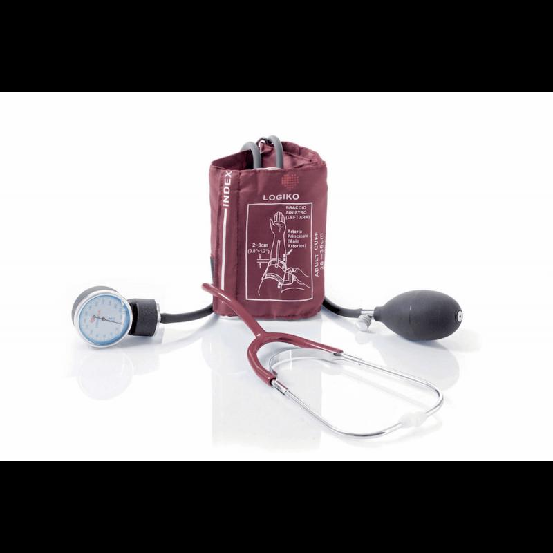 Tensiómetro con estetoscopio