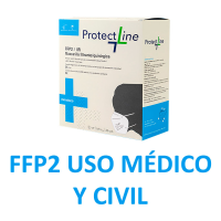 Mascarilla FFP2 DUAL Protect Line