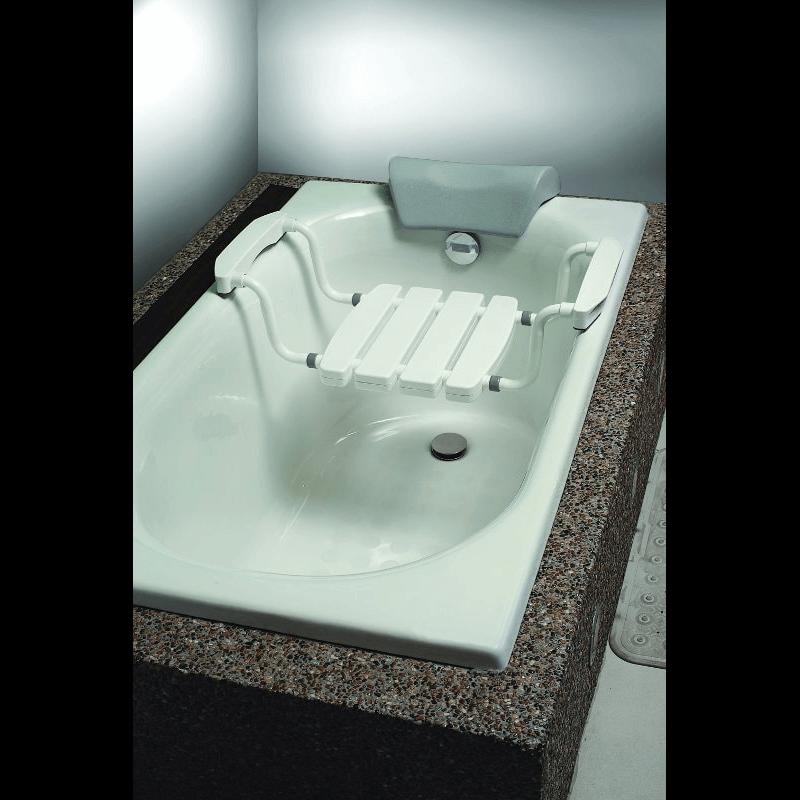 Asiento de aluminio para bañera