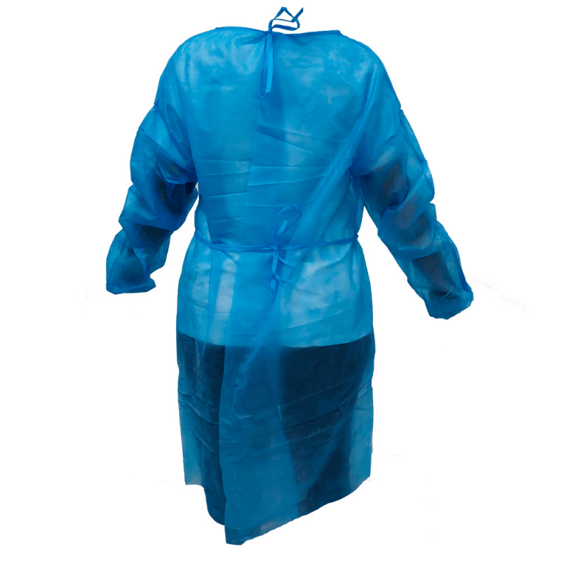 Bata desechable TNT (polipropileno) con cinturón