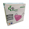 Mascarilla FFP2 color rosa