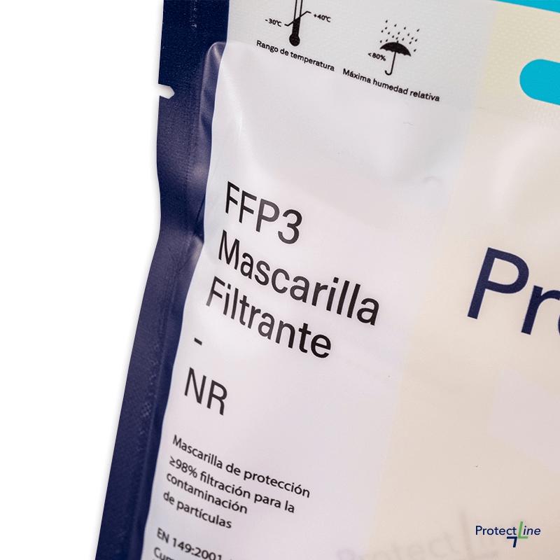Mascarilla de protección FFP3 NR