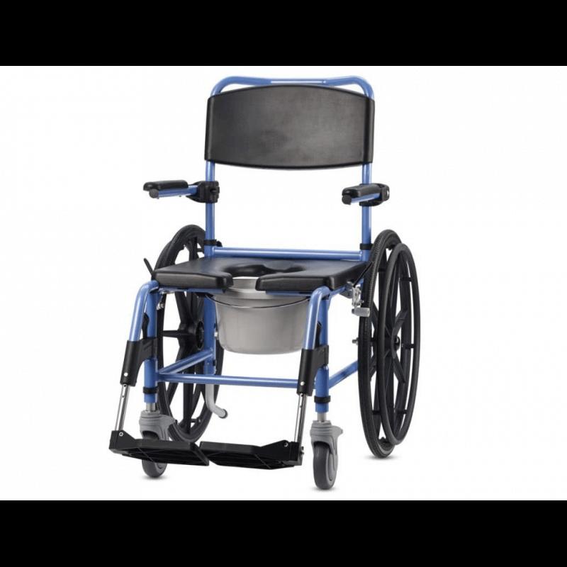 Silla de ruedas con inodoro TS-AQUA