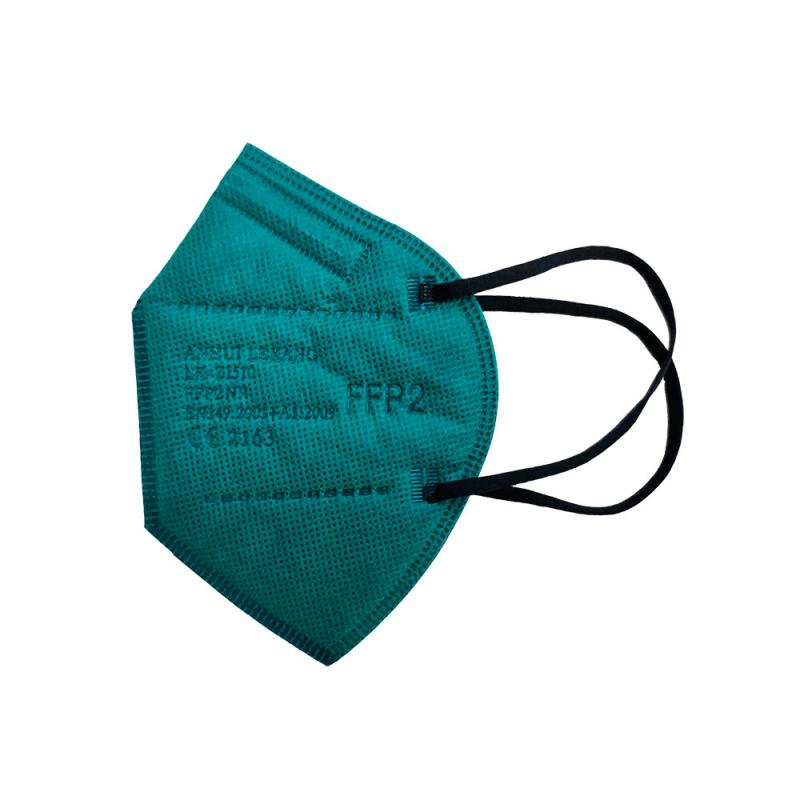 Mascarilla FFP2 color verde