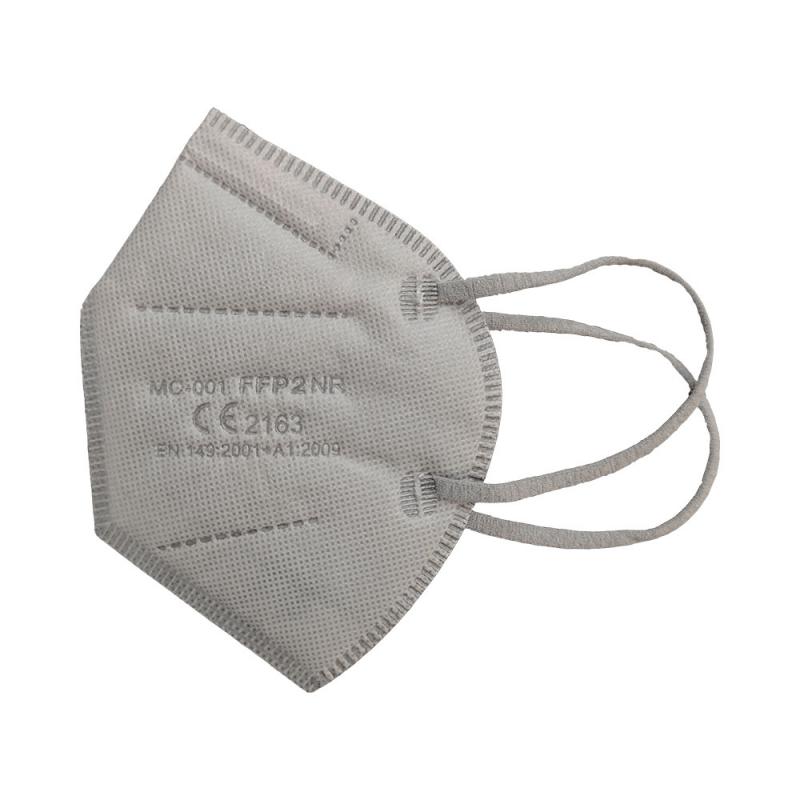 Mascarilla FFP2 color gris