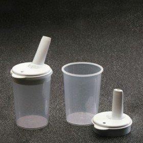 Vaso alimentación con tetina regulable - Ayudas dinámicas