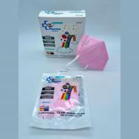 Mascarilla FFP2 infantil rosa homologada (10uds)