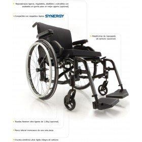 Silla de ruedas acitva de carbono HELIO - Ayudas dinámicas