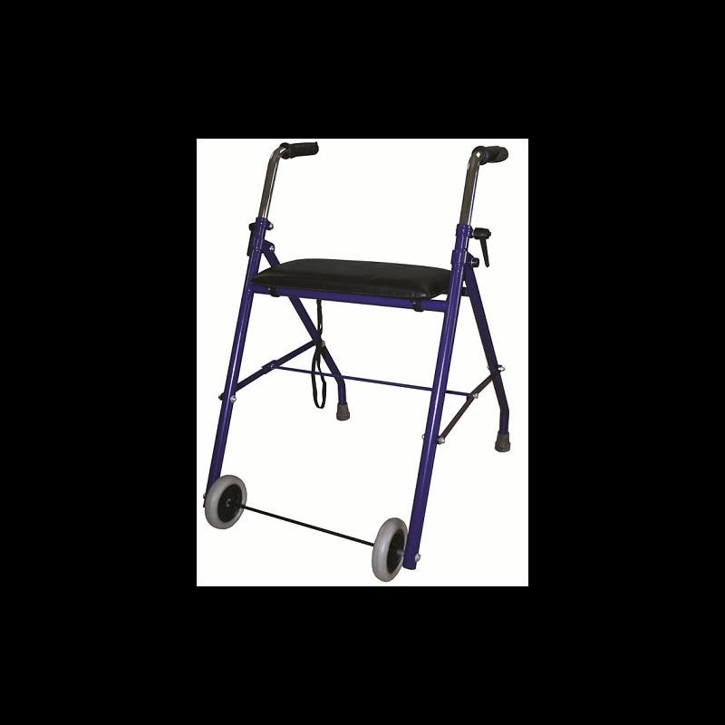 Andador de 2 ruedas con asiento D85