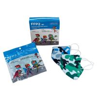 Mascarillas infantiles FFP2 camuflaje (10uds)